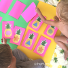 Play this Pineapple Shapes Memory Game with your kids for summertime fruits fun! Learn shapes and boost memory skills. Print the FREE printable to play the preschool game.