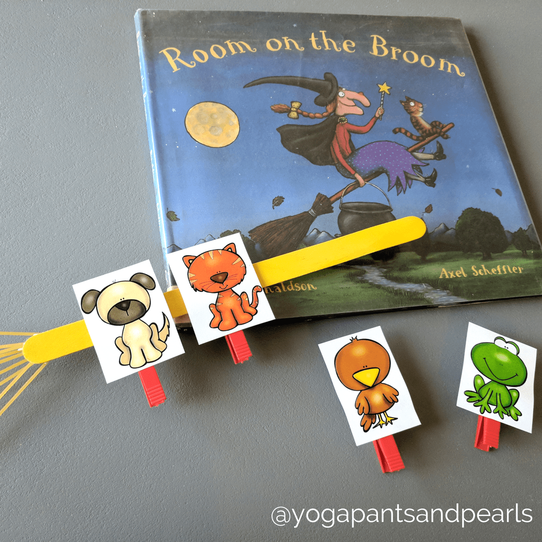Room on the Broom Yoga Pants and Pearls