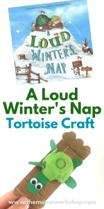A Loud Winter's Nap Craft and Activities