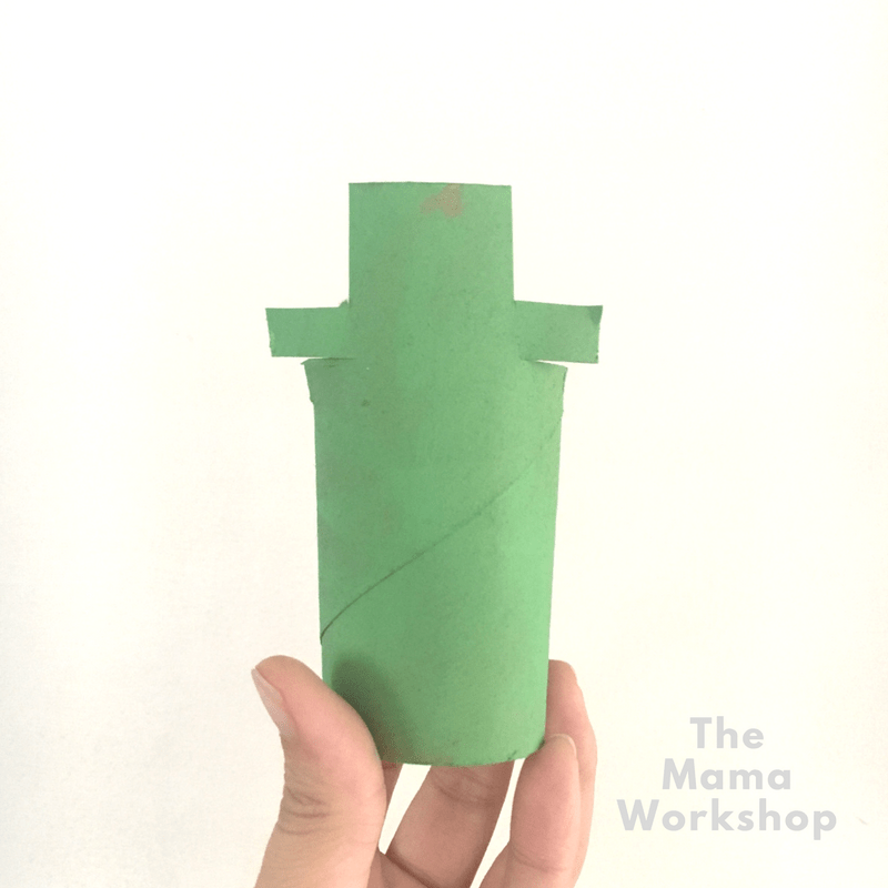 Leprechaun Craft for Kids - Hat