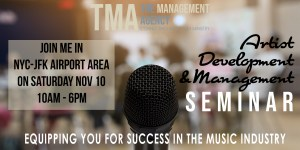 Artist Management Seminar @ Hampton Inn JFK-NY | New York | United States