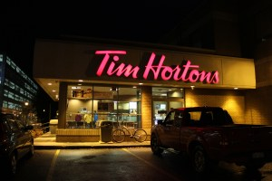 Fredericton to move Tim Hortons to traffic circle, keep all bad drivers in one spot