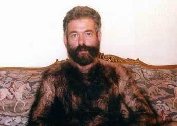 Hairy Pool Guy