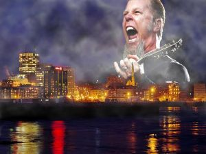 Voice of Metallica frontman James Hetfield heard in Saint John thunderstorm