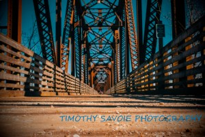 Photographer successfully copyrights 'Fredericton walking bridge photos'