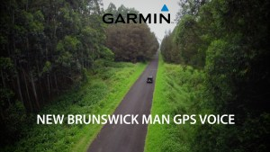 Garmin introduces 'New Brunswick man' GPS voice