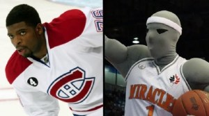 P.K. Subban traded to Moncton Miracles in return for mascot Maximus