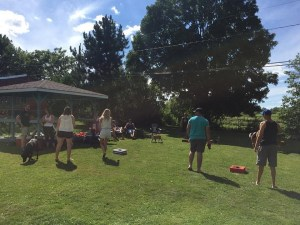 Gallant declares 'washer toss' official sport of New Brunswick