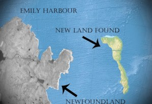 New land found outside of Newfoundland