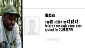 CBC.ca commenter 'NB4Sale' to replace Shad on 'q'