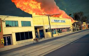 Thrift store fire causes dozens of dollars in damage