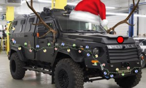 Fredericton police to bring armoured cheer over the holidays