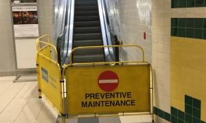 Saint John City Market escalator 'pretty sure' it knows what to do now