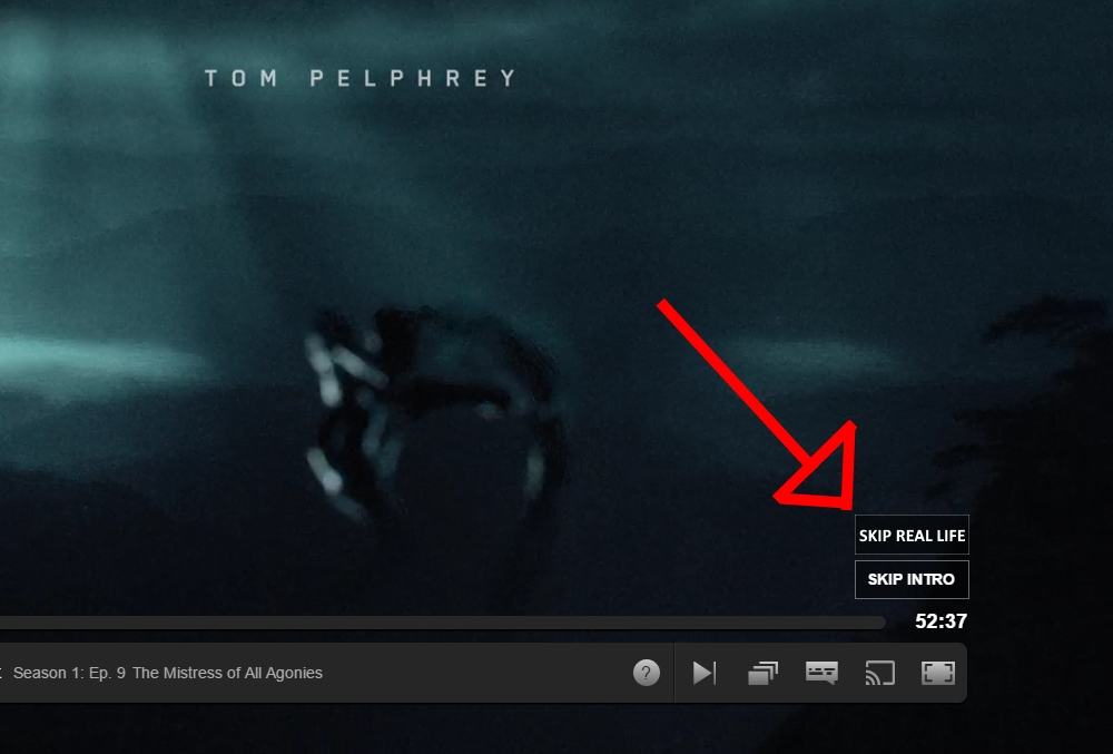 Netflix introduces button to skip boring parts of life not