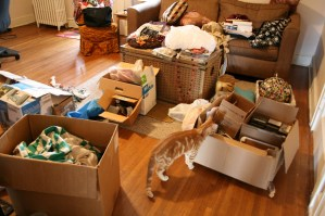 Moms kick off spring cleaning by offering you all their old junk