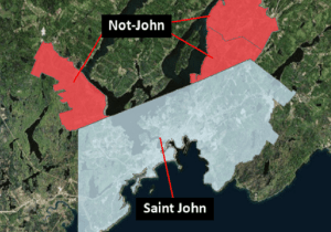 Quispamsis, Rothesay, Grand Bay-Westfield amalgamate to form 'Not-John'