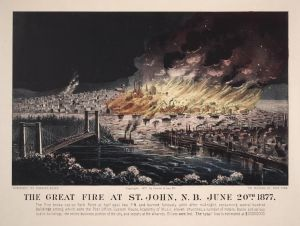 CBC 'failed' to cover Great Saint John Fire of 1877