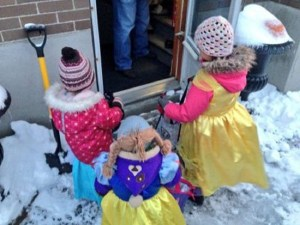 Report: Gen-X parents used to wear costumes over snowsuits