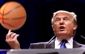 Haligonian challenges Trump to basketball game