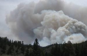 Gagetown residents say brush fire smoke gives them 'a little taste of Hollywood'