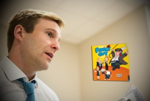 Gallant predicts Armageddon because his 'Family Guy' wall calendar doesn't go past 2017