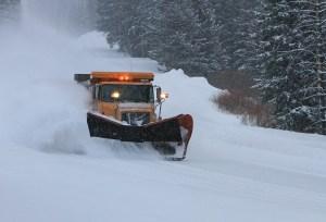Plow operator celebrates near-record driveway mound