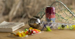 Man pretty sure he convinced wife his beer cans are fishing lures
