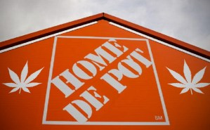 Home Depot preps to dispense marijuana, rebrands as 'Home de Pot'