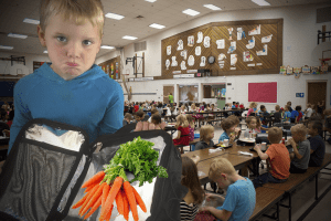 New Brunswick schools demand lunches must consist only of apples and carrots
