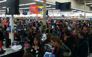 Online shoppers forced to face stores full of grouchy a-holes