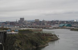 Saint John actually hasn't been looted, despite how it looks