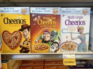 Cheerios put the woman on the worst option and I'm LIVID