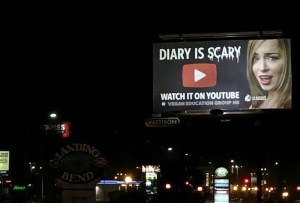 'Diary is Scary' billboards outrage New Brunswick literacy advocates