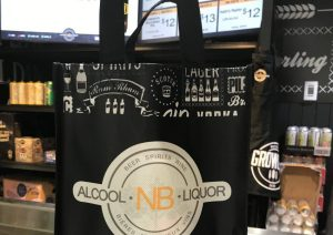 NB Liquor to start selling beer, liquor in refillable bags