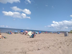 Much like most in New Brunswick, Parlee Beach pretty sure it's going to fail test