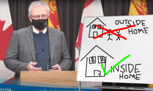 Higgs to New Brunswickers: You idiots have disappointed me again