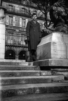 JPJ on the steps of Paris II