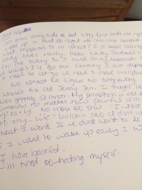 old journal entries