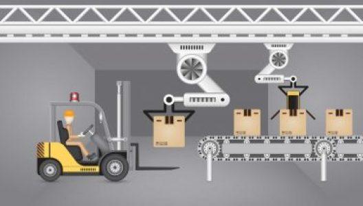 Автоматизацията в производството могат да увеличат човешкия елемент в определени задачи, премахвайки напълно рисковете и ограниченията за здравето и безопасността