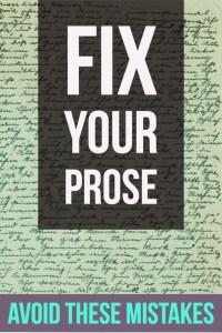 Fixing common writing mistakes-www.themanuscriptshredder.com