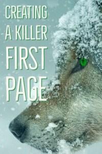 writing a killer first page-www.themanuscriptshredder.com