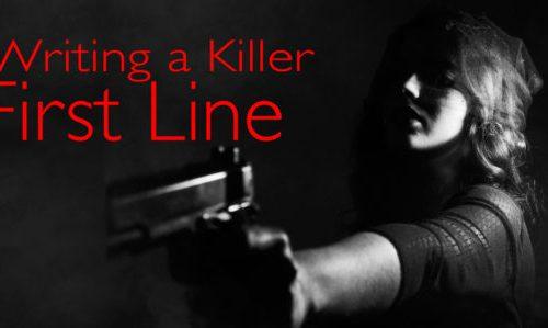 Writing a killer first line