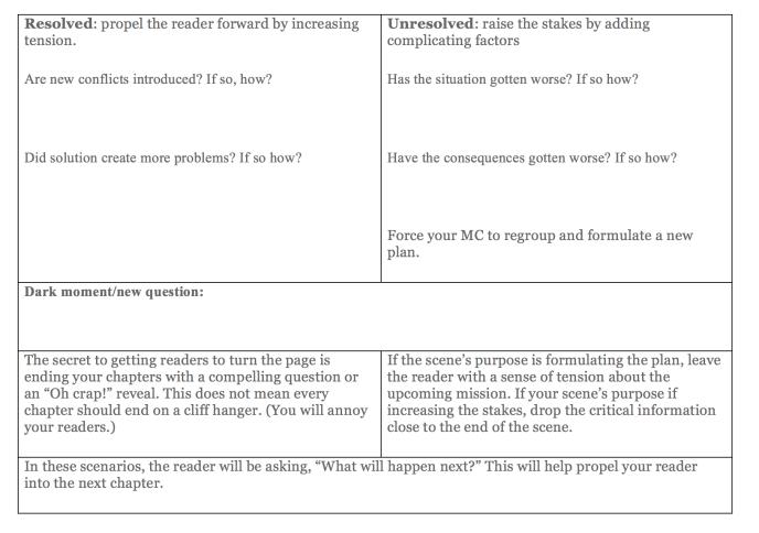 Scene planning worksheet2