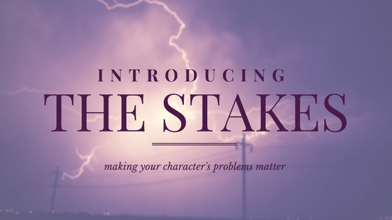 Introducing the stakes NaNoWriMo day 4