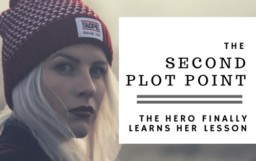 The second plot point-www.themanuscriptshredder.com