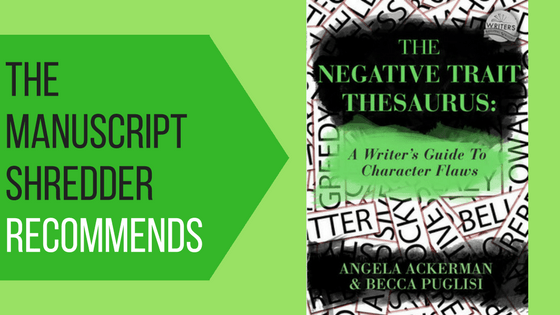 The Negative Trait Thesaurus-Recommended