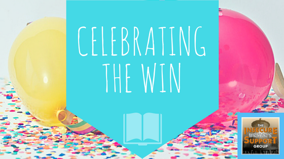 Celebrating a win-IWSG