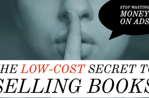 Low-cost secret to selling books-www.themanuscriptshredder.com