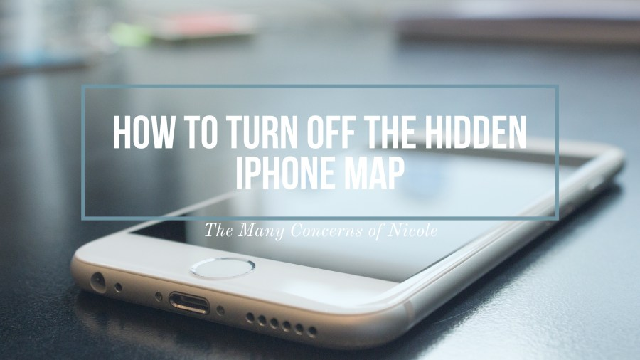 Hidden iPhone Map