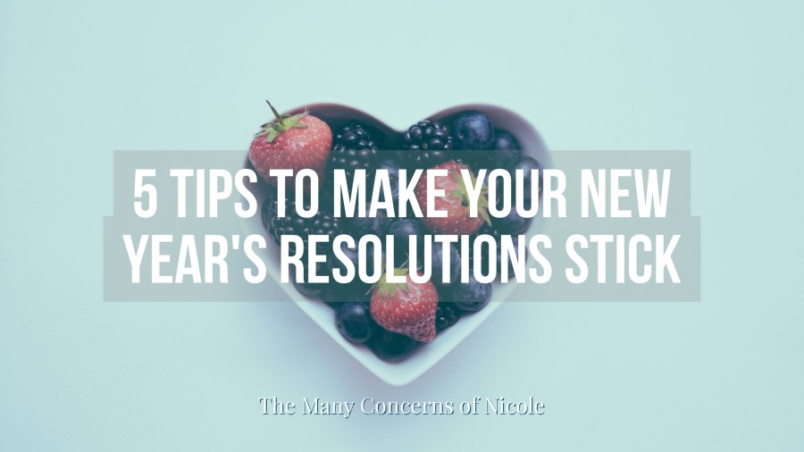 How's Your New Year's Resolution?